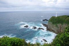 Cape Ashizuri. In Kochi, Shikoku, Japan Royalty Free Stock Photography