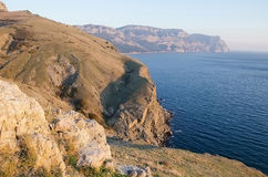 Cape Aya in Crimea Royalty Free Stock Image