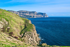 Cape Aya. Crimea. View from Balaklava fortress Stock Images