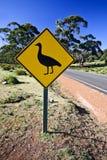Cape Barren Goose road sign Stock Photo