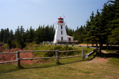 Cape Bear Lighthouse stock image