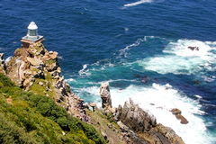 Ocean. Beautiful view on the ocean from Cape Good Hope in South Africa Royalty Free Stock Images