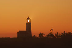 Cape Blanco Light Stock Photography
