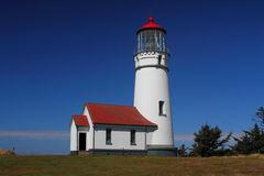 Cape Blanco Lighthouse Stock Photography