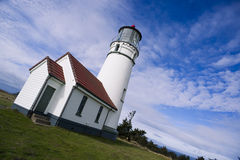 Cape Blanco Lighthouse Oregon United States Stock Photo