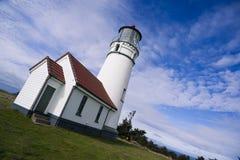 Cape Blanco Lighthouse Oregon United States Stock Photo