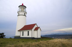 Cape Blanco Lighthouse Landscape Pacific Ocean OR Stock Photos