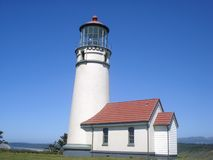 Free Cape Blanco Lighthouse Royalty Free Stock Photography - 3528547