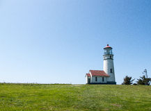 Cape Blanco Lighthouse, Oregon stock images