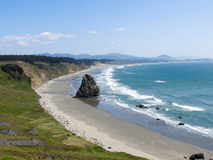 Cape Blanco State Park, Oregon. Pacific Ocean vista at Cape Blanco State Park, nera Port Orford, westernmost point in Oregon stock images