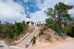 Cape Bojeador Lighthouse Royalty Free Stock Images