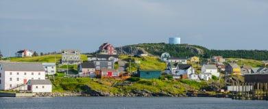 Cape Bona Vista coastline in Newfoundland, Canada. stock photos