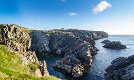 Cape Bona Vista coastline in Newfoundland, Canada. stock image