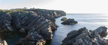 Cape Bona Vista coastline in Newfoundland, Canada. royalty free stock images
