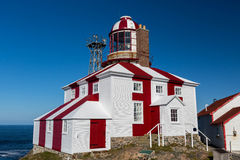 Cape Bonavista Lighthouse. The historic Cape Bonavista Lighthouse in Newfoundland, Canada Royalty Free Stock Photos