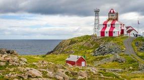 Cape Bonavista Lightstation, Newfoundland, Canada. Lighthouse station LL 449. Stock Photos
