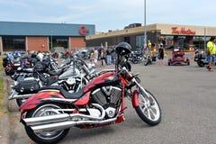 Cape Breton Bike Rally Stock Photo
