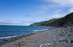 Cape Breton Coastline Royalty Free Stock Photo