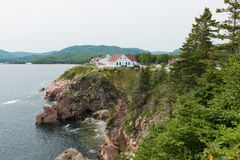 Cape Breton Highlands. Ingonish, Cape Breton Island, Nova Scotia, Canada stock photo