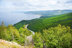 Cape Breton Island in Nova Scotia Royalty Free Stock Images