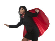 Cape busnesswoman Royalty Free Stock Photos