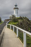 Cape Byron Lighthouse from the  access roadway Royalty Free Stock Image