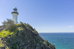 Cape Byron Lighthouse. The most eastern lighthouse in Australia Stock Photos