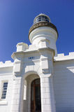 Cape Byron Lighthouse. The most eastern lighthouse in Australia, about 3 km from Byron bay Stock Image