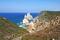 Cape Cabo da Roca. The rocks Stock Photo