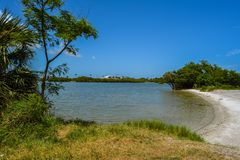 Cape Canaveral Beach stock image