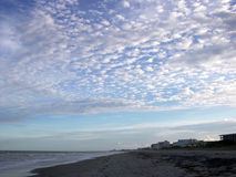 Cape Canaveral Clouds Stock Photography