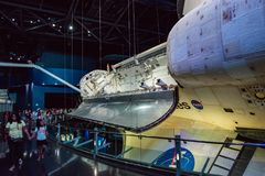 Cape Canaveral, Florida - 13. August 2018: Atlantis-Raumfähre an der NASA Kennedy Space Center stockbild