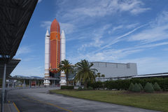 Cape Canaveral, Florida, U.S.A., Apollo saetta in alto Fotografia Stock Libera da Diritti