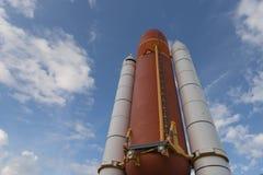 Cape Canaveral, Florida, U.S.A., Apollo saetta in alto Fotografie Stock Libere da Diritti