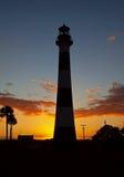 Cape Canaveral fyr Fotografering för Bildbyråer