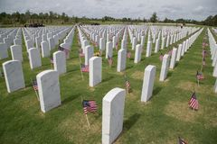 Cape Canaveral National Cemetery Stock Photos