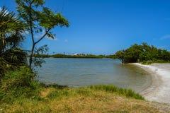 Cape Canaveral strand Fotografering för Bildbyråer