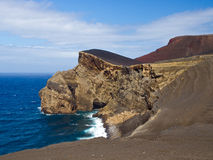 The cape of capelinhos, Faial Royalty Free Stock Photography