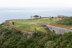 Cape Chinen Park in OKINAWA Stock Photo