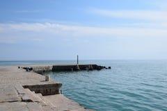 Cape Chirakman Great Port Bulgaria Stock Photo royalty free stock photo