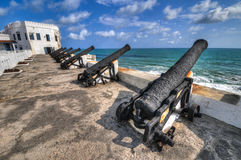 Cape Coast Castle - Ghana Royalty Free Stock Images