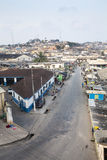 Cape Coast Cityscape, Ghana Royalty Free Stock Images