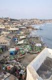 Cape Coast Cityscape, Ghana Royalty Free Stock Photos