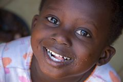 African child in Ghana royalty free stock images