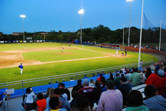 Cape Cod baseballa liga zdjęcie stock