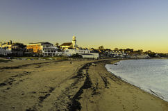 Cape Cod beach. A view of the sandy beach in Cape Cod Provincetown Stock Images
