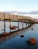 Cape Cod Bridge and Clouds Royalty Free Stock Images