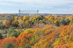Cape Cod Canal Stock Image