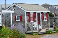 Cape Cod Cottage royalty free stock image
