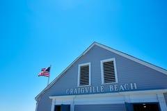 Cape Cod Craigville strand Massachusetts USA Arkivfoton
